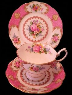 Oh! So Beautiful - Love this pattern, Royal Albert Lady Carlyle.... ~ Mary
