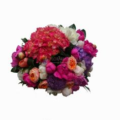 buchete din bujori si hortensie Floral Wreath, Wreaths, Luxury, Collection, Home Decor, Floral Crown, Decoration Home, Door Wreaths, Room Decor