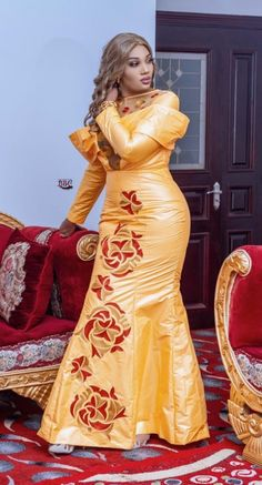 African Wear, African Women, African Dress, African Outfits, African Style, Unique Ankara Styles, Ankara Designs, Turban Hijab, Classy Dress