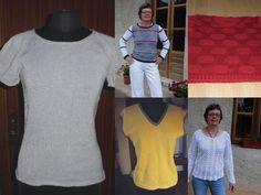 Bemerkbare und chic Damen-Modelle aus Baumwolle und leinen/Baumwolle. Zum Selbermachen - Strickanleitungen von domoras