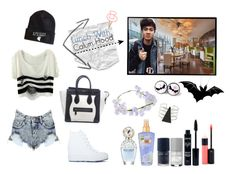 """Lunch with Calum Hood"" by sarkata-boo-bear ❤ liked on Polyvore"