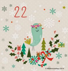 Mademoiselleyo: Advent calendar 20, 21, 22