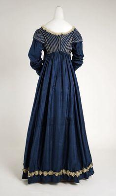 Dress 1815 European silk the Met Accession Number: C.I.39.13.100