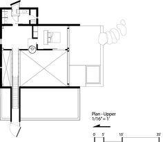 Image 22 of 30 from gallery of Chicken Point Cabin / Olson Kundig. Floor Plan