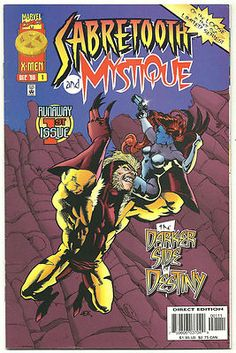SABRETOOTH AND MYSTIQUE 4-part Modern Age SERIES from Marvel! ~NM~ http://r.ebay.com/2msHuR