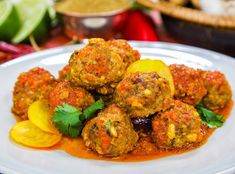 Executive chef of Native Restaurant, Nyesha Arrington is making this tasty treat that makes 60 meatballs. Native Restaurant, Beef Recipes, Cooking Recipes, Chicken Lettuce Wraps, Family Meals, Family Recipes, Homemade Sauce, Yummy Appetizers, Main Meals