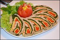 Rolada z mięsa mielonego Ratatouille, Sushi, Cooking, Ethnic Recipes, Food, Impreza, Cakes, Kitchen, Kochen