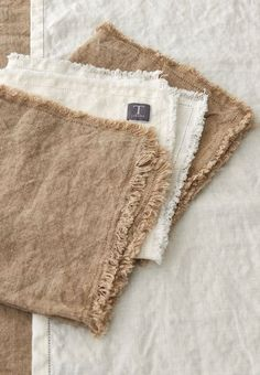 Fresh linens.... reminder.. want these in gray, teal, white.....