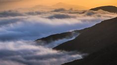 """""""Sea of Fog (3) - 4K"""" by BrennanVisuals. Archived and rights managed by Nimia."""