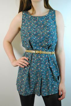 lovely little floral playsuit