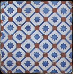 Old sicilian tile