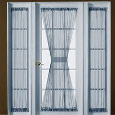 Decorating Door With French door Curtains