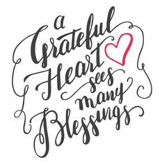 A Grateful Heart Sees Many Blessings - Positopia.com Gratitude Quotes, Faith Quotes, Life Quotes, Thankful Quotes, Crush Quotes, Quotes Quotes, Relationship Quotes, Tattoo Quotes, Relationships