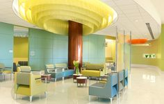 Silver Cross Hospital Waiting area designed by Spellman Brady & Company