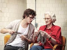 Knitting Bonds | The Living Principles; Senior Design Factory... I just love this picture!!!