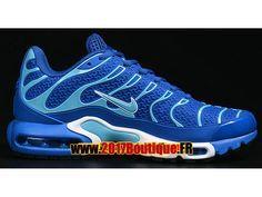 Nike Air Max Tn Tuned Requin 2016 Chaussures Nike Baskets Pas Cher Pour  Homme Bleu c59ac13de081