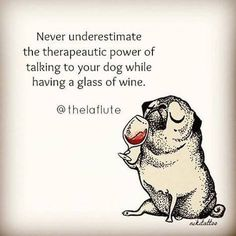 Vines of funny pets. Pugs are fantastic. Vines of funny dogs. Pugs are amazing. Pug Love, I Love Dogs, Cute Dogs, Pugs, Wine Quotes, In Vino Veritas, Dog Mom, Dog Life, Fur Babies
