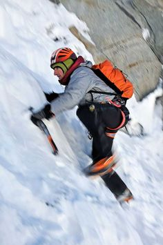Ueli Steck Reclaims Eiger Speed Record. 2hrs 22mins  The Swiss Machine soloing the Eiger North Face in 2008. Photo: Robert Boesch.