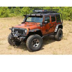 Rugged Ridge® New Hurricane Flat Fender Flare Kit for 07-14 Jeep® Wrangler & Wrangler Unlimited JK