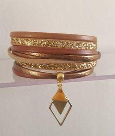 Etsy - Shop for handmade, vintage, custom, and unique gifts for everyone Bracelet Crafts, Bracelets, Bangles, Textiles, Bracelet Cuir, Bijoux Diy, Leather Craft, Jewelery, Creations