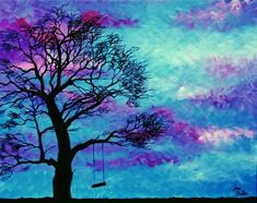 Jeni Butler loves to create bright images and has titled this piece 'Saying in the Wind'