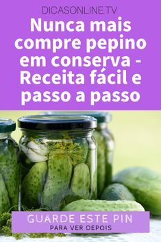 Pickles, Cucumber, Food, Home Canning, Canning Recipes, Finger Food Recipes, Vegan Recipes, Veg Recipes, Meals