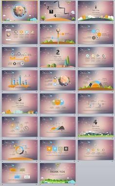 23+ Cartoon business Data PowerPoint Template Powerpoint Clip Art, Simple Powerpoint Templates, Professional Powerpoint Templates, Microsoft Powerpoint, Infographic Powerpoint, Infographics, Creative Infographic, Layout Template, Keynote Template