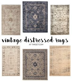 Rugs from Target