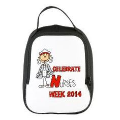 Celebrate Nurses Week 2017 Neoprene Lunch Bag Peacards
