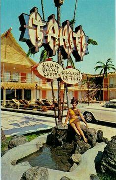 Tahiti Motel in Wildwood Crest, New Jersey.