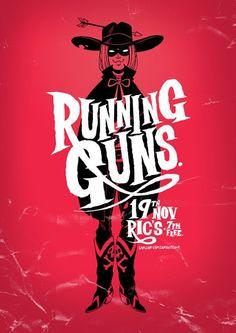Running Guns by Sam Mckenzie