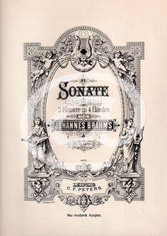 Originální knižní tisk 25x33cm Úvodní stránka z notového zápisu je profesionální knihtisk z poškozené publikace vydané kolem roku 1900. Tisk je proveden na papíře slonovinové barvy o velikosti 25x33cm a je ve výborném stavu. Věnujte nádherný a jedinečný dárek. Potěšte své blízké nebo sebe! Rám není součástí této nabídky.