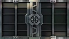 Digital Artwork image from Shutterstock site. This specific door depicts a futuristic/sci-fi style doors. Doors like represents that we are entering a futuristic, fantasy world. Mainly shown through its specific details and design.