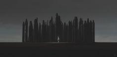 Eerie Illustrations of an Apocalyptical World | Abduzeedo Design Inspiration