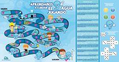 Resultado de imagen para Cuidado del agua Map, Tens And Ones, Water Cycle, Reading, Tone Words, Notebooks, Location Map, Maps