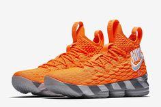 "Nike LeBron 15 ""Orange Box"" - EU Kicks: Sneaker Magazine"
