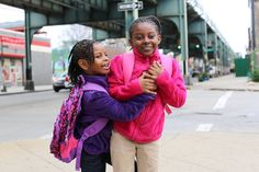 """""""One time we were spinning with blankets on our heads and we spun into the TV!"""" HONY"""