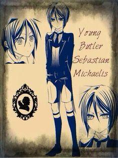 Black Butler Little Kid Sebastian!