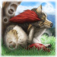 Mane Wolf by SheltieWolf.deviantart.com on @DeviantArt