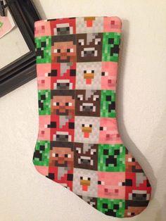Life-Size Minecraft Christmas Tree | Geek Moms | Pinterest ...