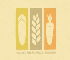 I love farm-to-table logos! This one works in a rustic look resonant of farmland and aging. The muted colors are nice.