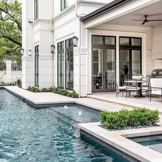 Modern House Exterior Design Ideas To Copy Rigth Future House, Dream Home Design, My Dream Home, Dream House Plans, Style At Home, Design Exterior, Wall Exterior, Exterior Doors, Outdoor Settings