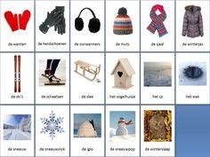 winter themakaarten ~ Juf Milou
