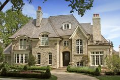 European-style country home