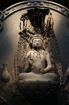 Kondo Sokannon Kakebotoke statue, National important cultural property of #Japan, Kamakura era (1275)