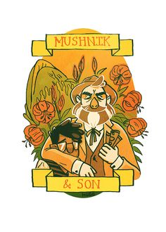 Mushnik & Son  5x7 by OurSiblingRivalry on Etsy