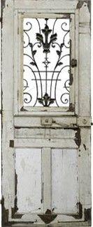 1790 France entrance door. ❤