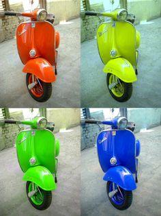 1964 Vespa Scooters