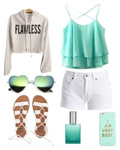 """Teal"" by brookiea on Polyvore featuring Barbour International, Billabong and ban.do"