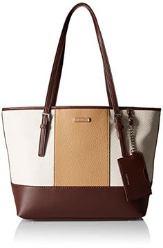 5285645dc34e9 Nine West Ava Tote MilkHot ChocolateDark Camel -- To view further for this  item